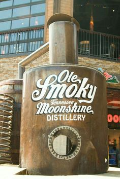 I can hardly wait until we vo on oyr vacation!Ole Smoky Moonshine, Gatlinburg Tennessee Dining in Gatlinburg. Where to eat in Gatlinburg Gatlinburg Vacation, Gatlinburg Tennessee, Tennessee Vacation, Tennessee Cabins, Moonshine Distillery, Ole Smoky Moonshine, Smoky Mountain National Park, Smokey Mountain, On The Road Again
