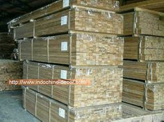 Teak (Tectona Grandis) is considered one of the most desirable hardwoods in the world. It is valued for its durability and stability. Its durability and stability are not strictly a result of hardness but   of the quality, composition and amount of the teak oil which permeates this wood. Because of this, teak wood can withstand all types of weather and environmental conditions. It is the reason that teak is the favoured wood type in the furniture industry. Teak Lumber, Reclaimed Lumber, Teak Flooring, Teak Oil, Timber Structure, Kiln Dry, Indochine, Industrial Furniture, Types Of Wood