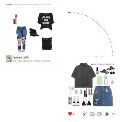 """Came a long way"" by goldeneyes8 ❤ liked on Polyvore"