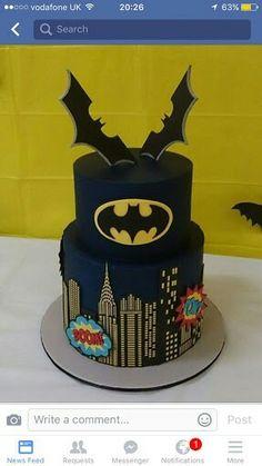Lego Batman Cakes, Batman Birthday Cakes, Lego Batman Party, Lego Cake, Superhero Cake, Superhero Birthday Party, Batman Grooms Cake, Cake Minecraft, Minion Cakes