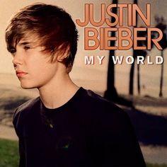 Justin Bieber Google News: Justin Bieber My World Album Art Cover