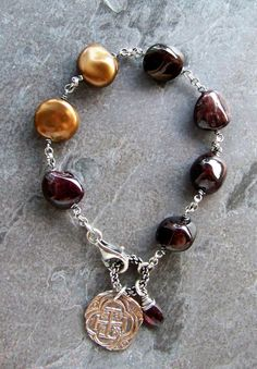 Handcrafted Artisan JewelryWire Wrapped by bluemarblebeading
