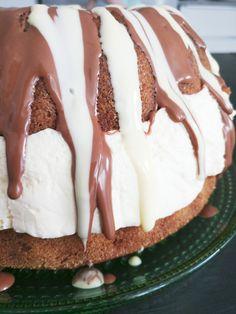 Mimmimafia: Pääsiäisen ykkösherkku on rengasvuokaan leivottu K. Piece Of Cakes, Cheesecake, Food And Drink, Pudding, Sweets, Baking, Desserts, Koti, Party