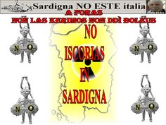 NO ISCORIAS IN SARDIGNA