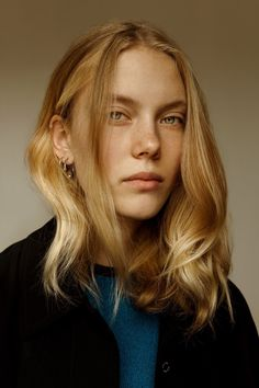 Rising star from Germany, shot in London. Nina Hnizdo represented by M+P Models and photographed by Stephane Sb.