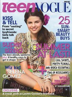 Selena Gomez June/July 2009