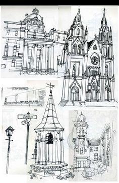 Fine Art | Sketch Journal | Traditional Media donartdesign.com