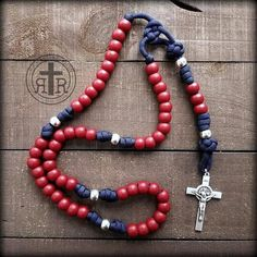Patriot Paracord Rosary