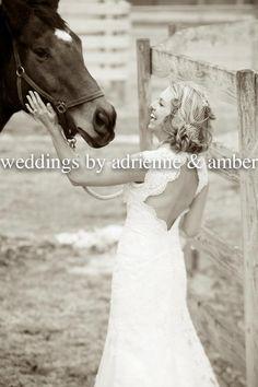 Royal Oak Wedding Photography-Weddings by Adrienne & Amber  #TrashTheDress #PureMichigan #Bride #Horse #Weddingsbyaa