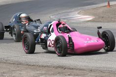 Formula Vee Driver, Kim Madrid, Leads the Points Race in VARA