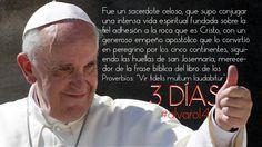 Una frase del @Pontifex_es para recordar estos #3días antes de #alvaro14