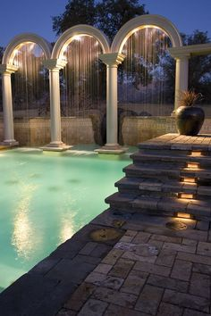 Service is very crucial in our life, likewise a pool. Now, we are going to give you the swimming pool service that you can choose based on your pool needed. Luxury Swimming Pools, Luxury Pools, Dream Pools, Roman Pool, Moderne Pools, Beautiful Pools, Cool Pools, Pool Houses, Pool Designs