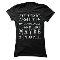 (Cool TShirt) All I Care About Is My Motorcycle Tshirt Best Selling Hoodies, Tee Shirts Cool Tees, Cool T Shirts, Funny Shirts, Tee Shirts, Long Shirts, Slogan Tee, New Shirt Design, Shirt Designs, Mega Fashion