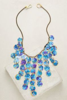 Galaxy Bib Necklace | Anthropologie