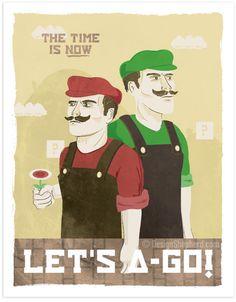 let's a - go! Mario propaganda!