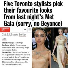 My pick from last night's MET Gala on @torontolifemag. Read more at www.torontolife.com #MetGala2016 #fkatwigs #BestDressed #celebritystyle #redcarpetstyle by gail_mcinnes
