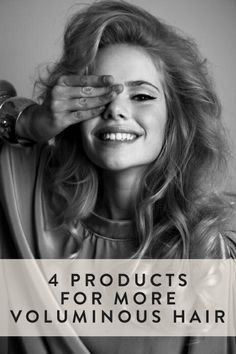 Try these products for some amazing hair volume!
