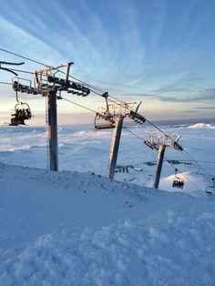 Bláfjöll, Iceland #skiing