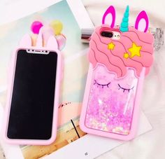 2 in 1 Glitter Phone Case (Black) + Screen Protector, Compatible with iPhone 6 Plus/iPhone Plus Smartphone Iphone, 3d Iphone Cases, Cute Phone Cases, Ipod Cases, Iphone 8 Plus, Capas Samsung, Iphone7 Case, Glitter Iphone 6 Case