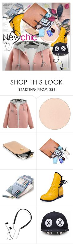"""Newchic"" by ilona828 ❤ liked on Polyvore featuring Chantecaille, Alexander McQueen, Polaroid, Summer, chic, leatherjacket, New and newchic"