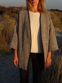 La chronique d'Aurélie //80// Kimono pour les soirs d'été   Lagouagouache
