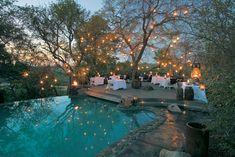 Singita Boulders Lodge pool. Great atmosphere.