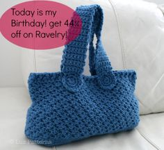 luzPatterns.com birthday discount get 44% off enter the coupon 'HappyBirthday' at check out http://www.ravelry.com/stores/luz-mendoza-designs #crochetpatterns #diy #sale