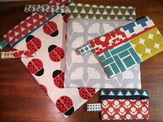 Front Zip Pouch in Four Sizes ~ Sew,Mama,Sew!