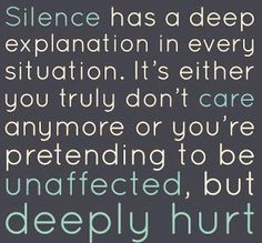 silence: that eight month hiatus (after the ugly sweater party) and dating another man, to have a rebound from the embarrassing dumpage.