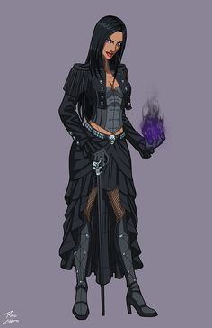 Hecate (NeOlympus) commission by phil-cho