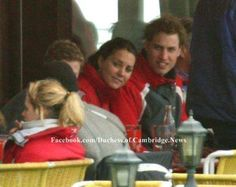 3.30.2005: Kate joined Prince William for a ski vacation in Klosters, Switzerland.