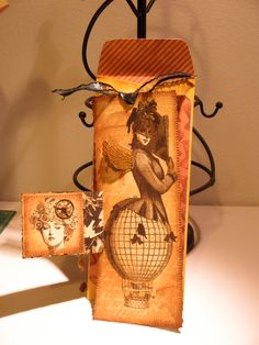 Hope you like my Graphic 45 steam punk card and envelope. Biologirl.