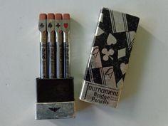 COOL Tournament Bridge Pencils. Unused and in by LeObjectUnique