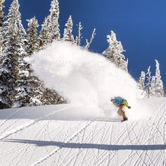 Jussi Oksanen kicking up some spray. Photo: Scott Serfas #snowboarding
