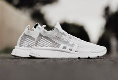 pretty nice 52f28 d9dff adidas EQT Support Mid ADV Primeknit Flat White CQ2997 Adidas Sneaker Nmd,  Adidas Sneakers,