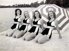 Bathing Beauties, 1940's