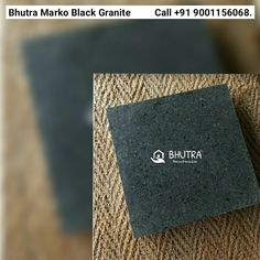 Marko Black granite from BHUTRA MARBLE is a south Indian beauty with a granular texture. In the light black shade, this natural stone imparts a splendid look to the platform of its installation. Moreover, you can use this material with stones of different hues. Even, it will bring a twist to the beauty of interior and exterior structures when used separately. Be it your wall, countertop, or floor, you can opt for this stone in standard sizes and thicknesses. Moreover, this jet black granite… Granite Tops, Granite Slab, Black Granite, Countertop, Granite Suppliers, Black Indians, Italian Marble, Shades Of Black, Indian Beauty