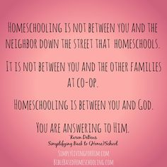Simply Living...For Him: When I Began Homeschooling, I Didn't Have Facebook...and I'm Glad...