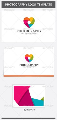 Photography Logo — Photoshop PSD #photography #colorful. creative • Available here → https://graphicriver.net/item/photography-logo/6826266?ref=pxcr