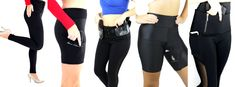 """"""" Our line of concealed carry holsters was built upon this belief. Concealed Carry Holsters, Conceal Carry, Self Defense, Firearms, Edc, Carry On, Safety, Capri Pants, Women"""