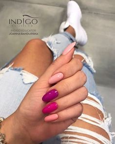 Indigo Nails New Colours Yummy mummy, Mama No Drama, Don't get crazy, Porcelain Doll Cute Acrylic Nails, Cute Nails, Pretty Nails, Hair And Nails, My Nails, Nail Lab, Indigo Nails, Manicure E Pedicure, Dream Nails