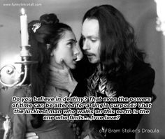 Dracula and Mina..One of my ALL TIME FAVORITES. .EVER.. BRAM STOKERS DRACULA♡