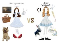 """""""Dorothy vs Alice"""" by ambie96 ❤ liked on Polyvore featuring Funtasma, John Lewis, Gucci, Chantal Thomass, Accessorize, BCBGeneration and BERRICLE"""