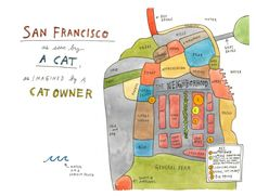 A Cat-map of SF