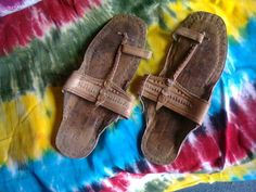 $14.95 Just The way You Remember Them From The '60s & '70s. GENUINE BUFFALO SANDALS