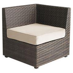 Ciudad Corner Chair - Mocha