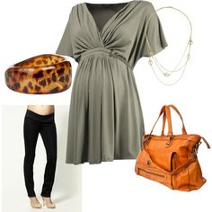 """Maternity Work IV"" by pregnantchicken on Polyvore"
