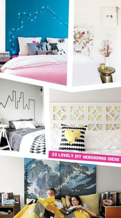 20 Lovely DIY Headboard Ideas For Every Skill Level!