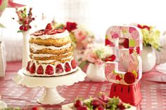 Adorable party theme idea: Strawberry Shortcake