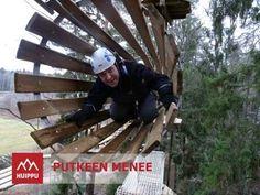 ▶ Putkeen menee - YouTube Kypäräkamerakuvaa Huipun punaisen radan ensimmäiseltä esteeltä. #seikkailupuistoHuippu #Espoo #Leppävaara #Hochseilgarten #treetop #adventure